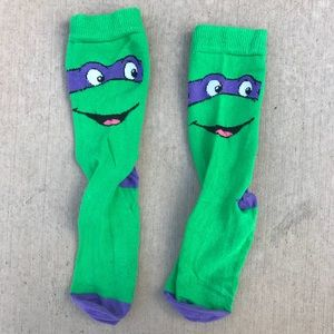 Other - Ninja Turtles Crew Socks